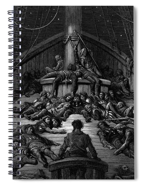 The Mariner Gazes On His Dead Companions And Laments The Curse Of His Survival While All His Fellow  Spiral Notebook