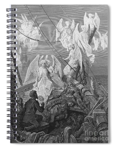 The Mariner Sees The Band Of Angelic Spirits Spiral Notebook