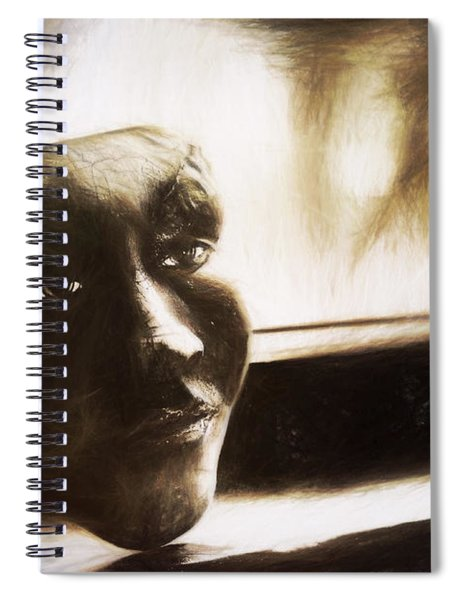 The Mask Sketch Spiral Notebook