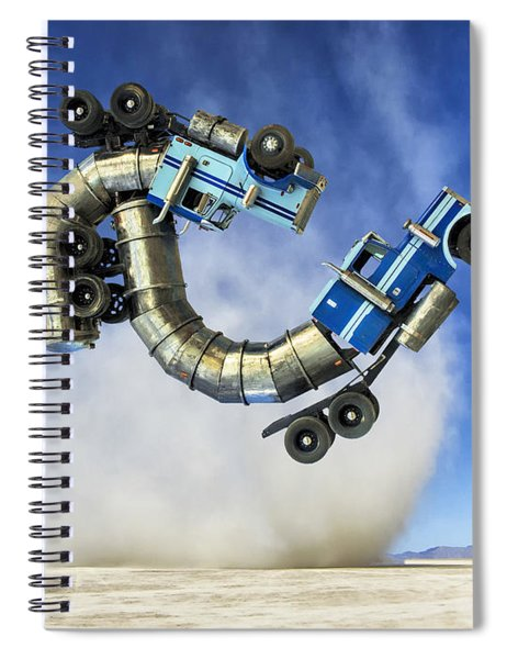 The Mating Dance Spiral Notebook