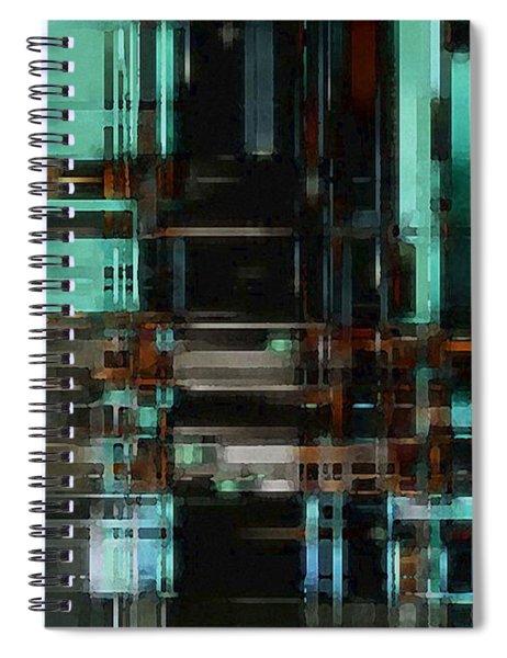 The Matrix 3 Spiral Notebook