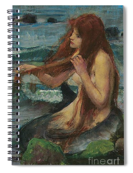 The Mermaid Spiral Notebook