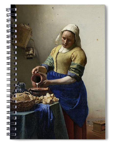 The Milkmaid Spiral Notebook