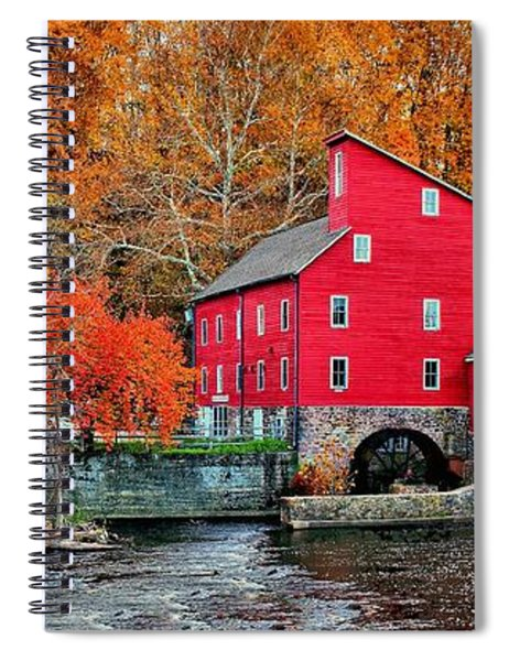The Mill In Clinton Spiral Notebook