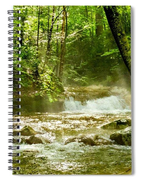 The Mist Spiral Notebook