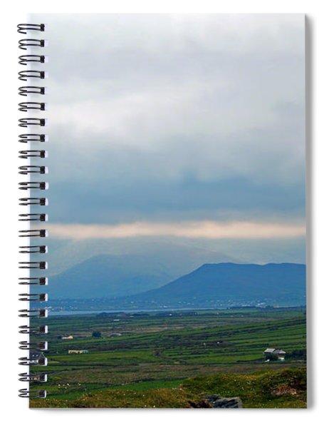 The Misty Hills Of Ireland Spiral Notebook