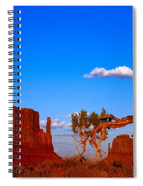 The Mittens Before Sunset Spiral Notebook