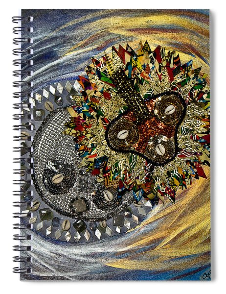 The Moon's Eclipse Spiral Notebook