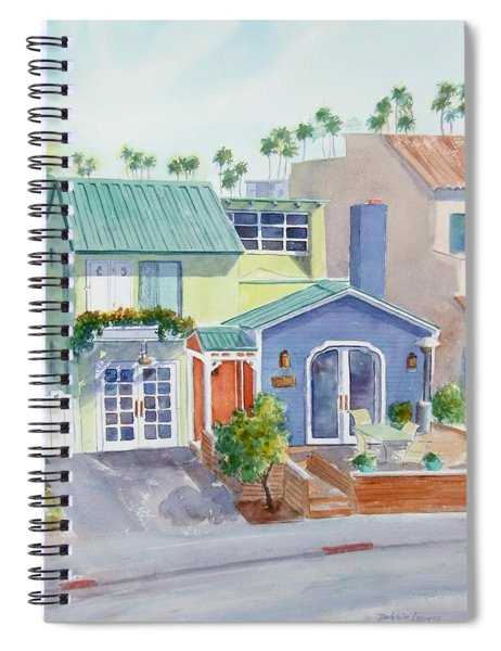 The Most Colorful Home In Belmont Shore Spiral Notebook
