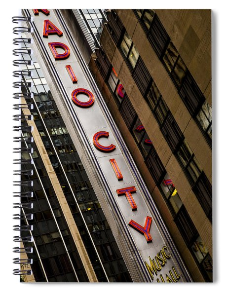 The Music Hall Spiral Notebook