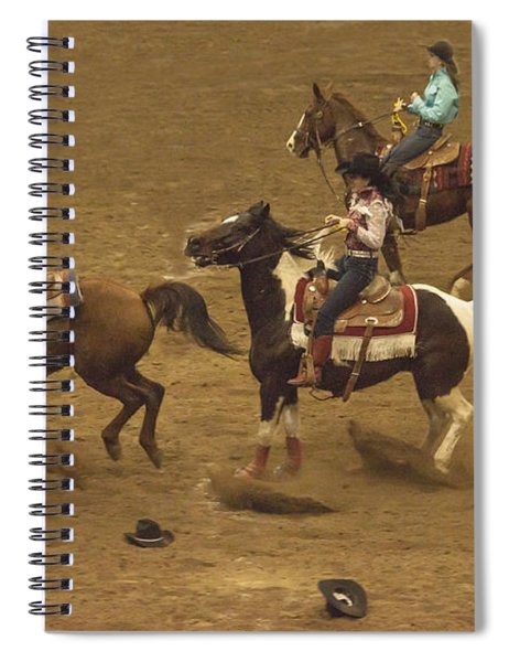The National Western Stock Show Barrel Races Spiral Notebook