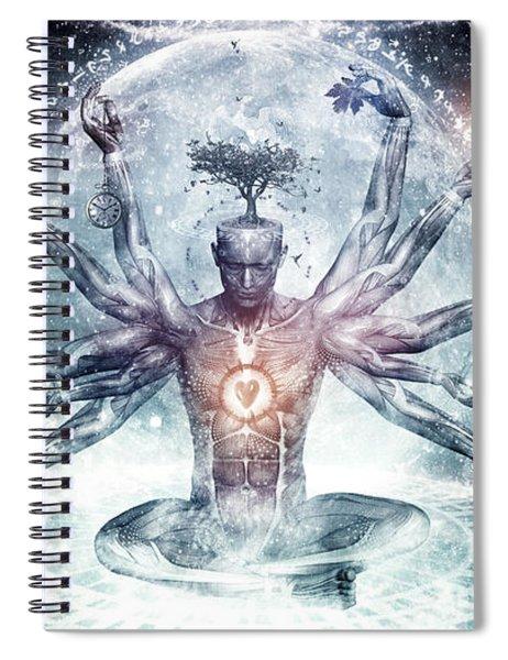 The Neverending Dreamer Spiral Notebook