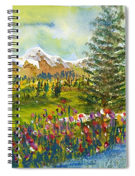 The Ninth Hole Spiral Notebook