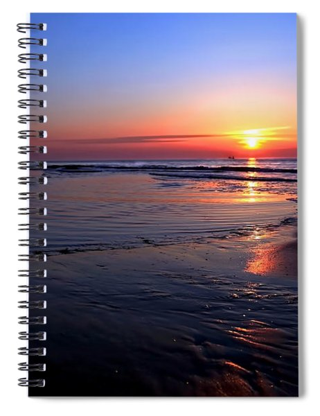 The North Sea Spiral Notebook