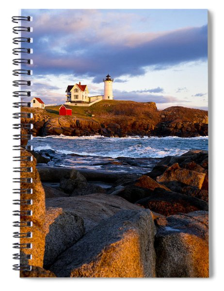 The Nubble Lighthouse Spiral Notebook