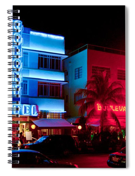 The Ocean Drive Spiral Notebook