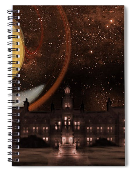The Old Asylum Spiral Notebook