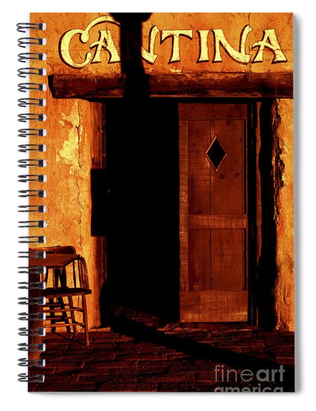 The Old Cantina Spiral Notebook