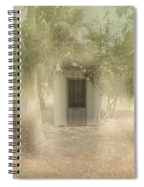 The Old Chook Shed Spiral Notebook