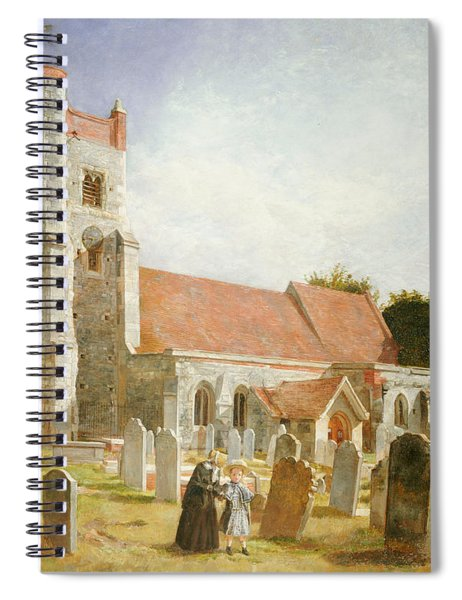 The Old Church Spiral Notebook