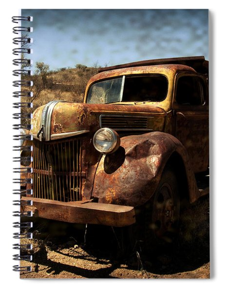 The Old Ford Spiral Notebook
