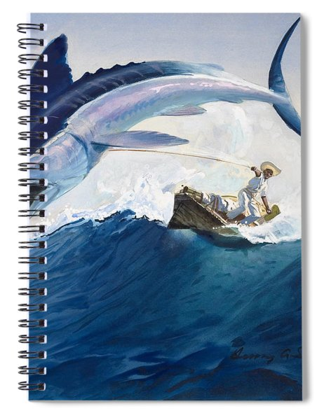 The Old Man And The Sea Spiral Notebook