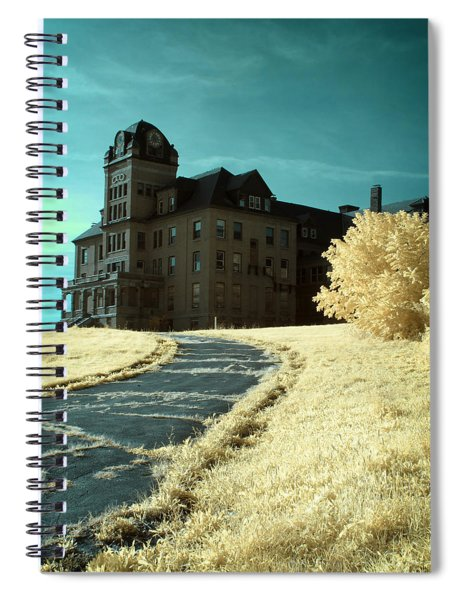 The Old Odd Fellows Home Color Spiral Notebook