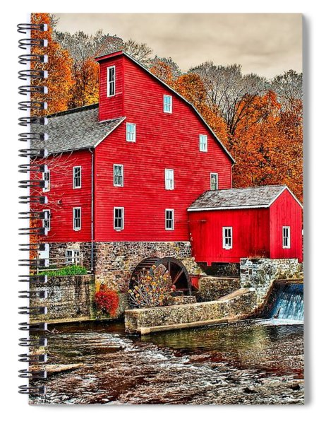 The Old Red Mill Spiral Notebook