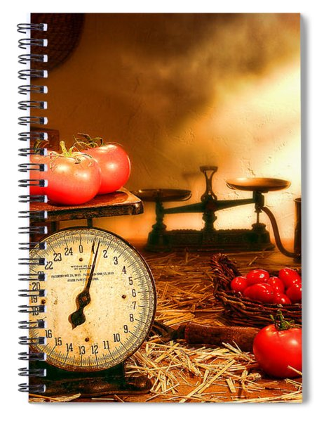 The Old Tomato Farm Stand Spiral Notebook