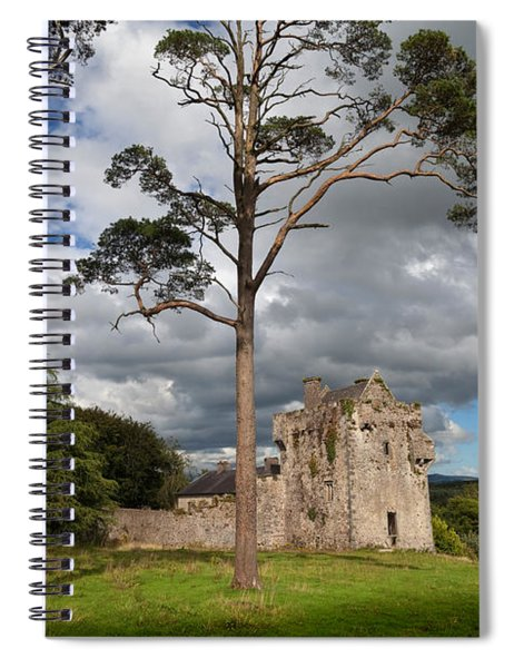 The Old Tourin Castle, County Spiral Notebook