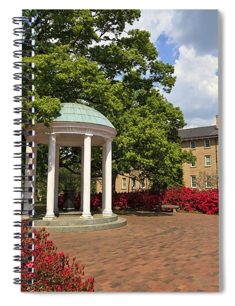 The Old Well At Chapel Hill Campus Spiral Notebook