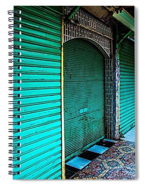 Marrakech Aqua Spiral Notebook
