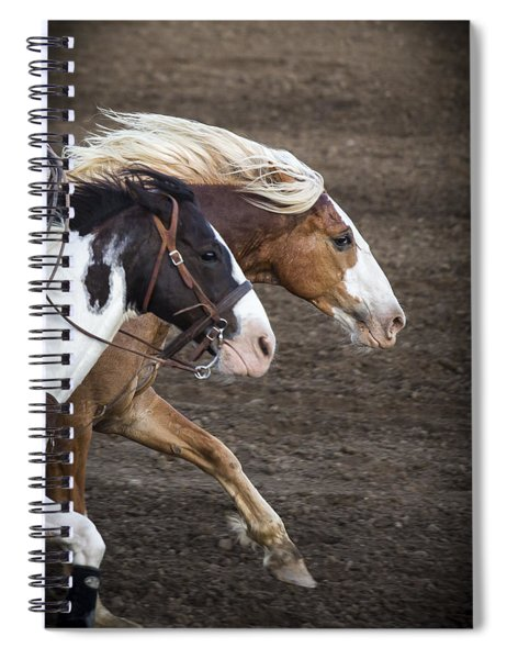 The Outlaw And The Law Spiral Notebook