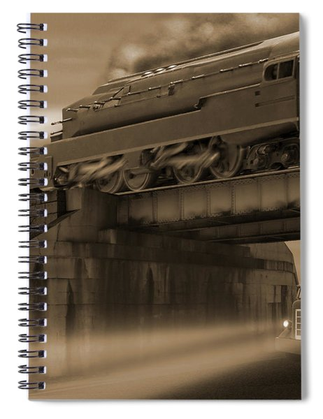 The Overpass 2 Spiral Notebook