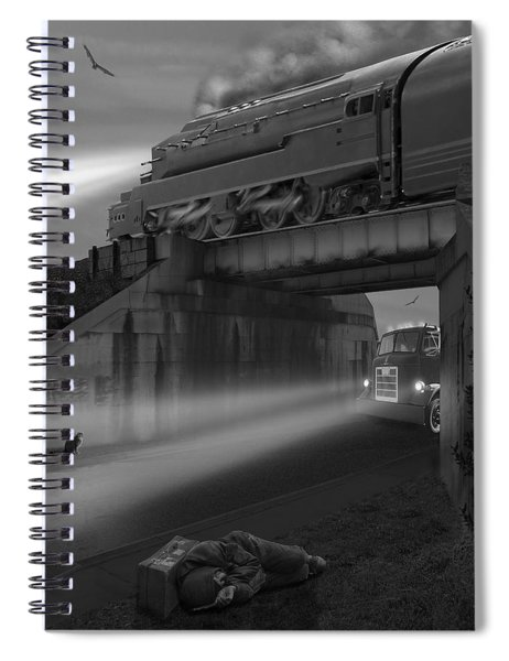 The Overpass Spiral Notebook