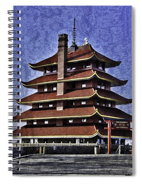 The Pagoda Spiral Notebook