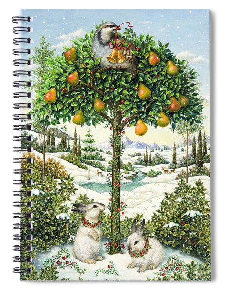 The Partridge In A Pear Tree Spiral Notebook
