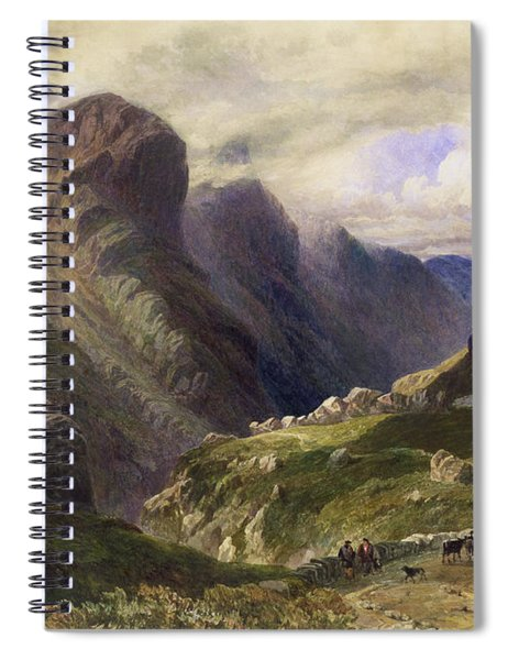 The Pass Of Glencoe, 1852 Spiral Notebook