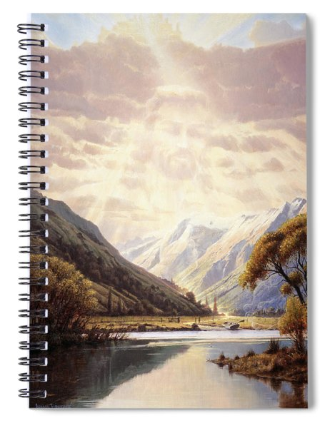 The Path Of Life Spiral Notebook