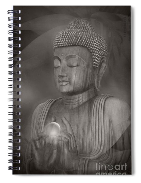 The Path Of Peace Spiral Notebook