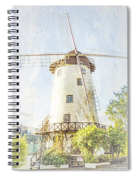 The Penny Royal Windmill Spiral Notebook