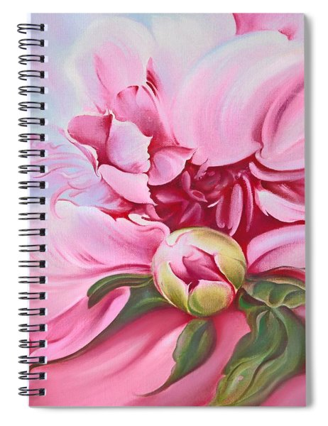 The Peony Spiral Notebook