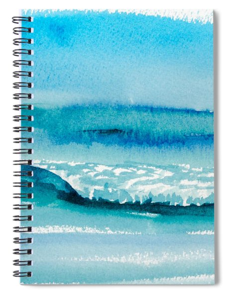 The Perfect Wave Spiral Notebook