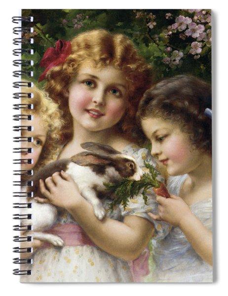 The Pet Rabbit Spiral Notebook