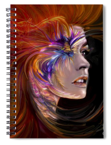 The Phoenix Spiral Notebook