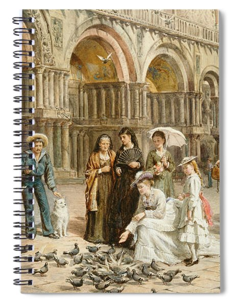The Pigeons Of St Mark S Spiral Notebook