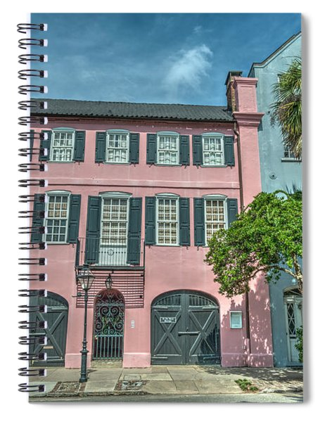 The Pink House Spiral Notebook