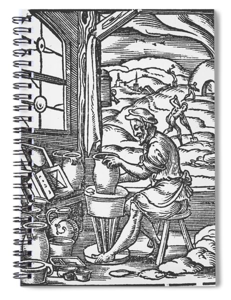 The Potter, 1574 Spiral Notebook