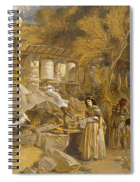 The Praying Cylinders Of Thibet Spiral Notebook