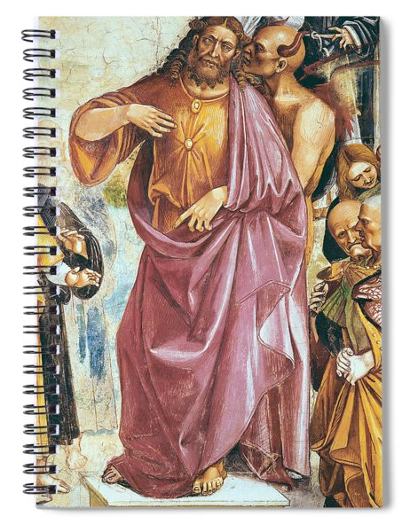 The Preaching Of The Antichrist Spiral Notebook